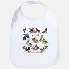 I love Birds Bib