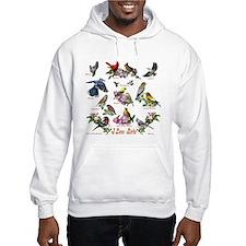 I love Birds Jumper Hoody