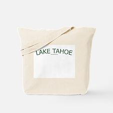 Lake Tahoe (Green) - Tote Bag