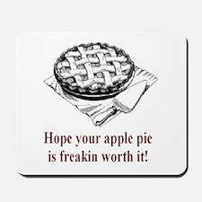 Apple Pie Mousepad