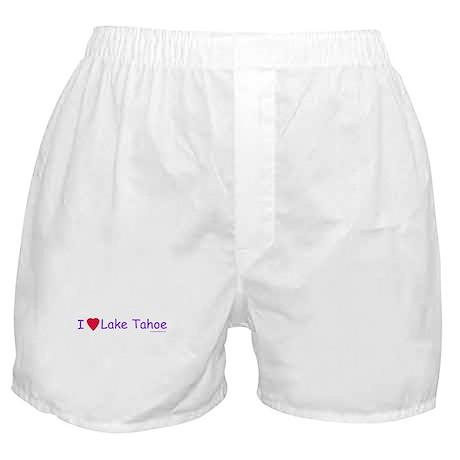 Love Lake Tahoe - Boxer Shorts