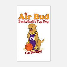Air Bud Basketball Decal