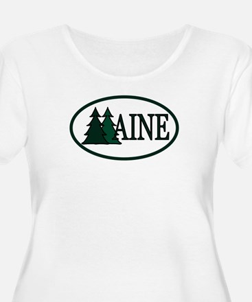 Maine Pine Trees II T-Shirt