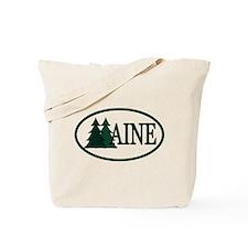 Maine Pine Trees II Tote Bag