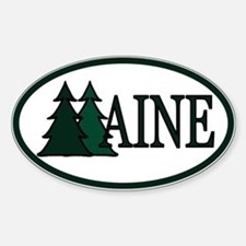 Maine Pine Trees II Decal