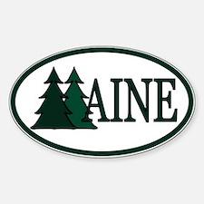 Maine Pine Trees II Decal