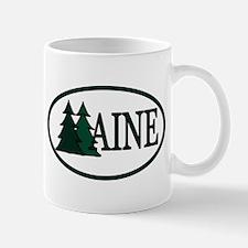 Maine Pine Trees II Mug