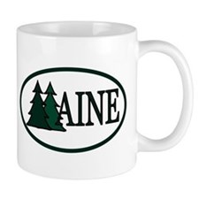 Maine Pine Trees II Mug