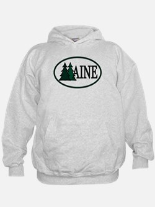 Maine Pine Trees II Hoodie