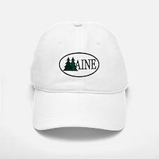 Maine Pine Trees II Baseball Baseball Cap