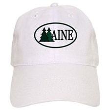 Maine Pine Trees II Baseball Cap