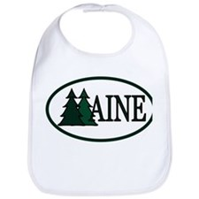 Maine Pine Trees II Bib