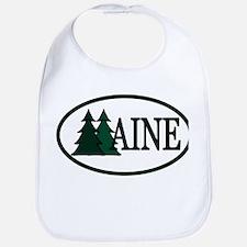 Maine Pine Trees II Bib
