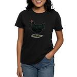 Jersey Giant: Black Hen Women's Dark T-Shirt