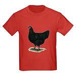 Jersey Giant: Black Hen Kids Dark T-Shirt