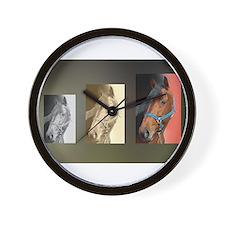 Standardbred Portrait Wall Clock