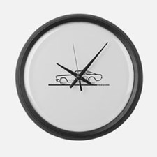1964 65 66 Mustang Fastback Large Wall Clock