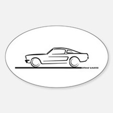 1964 65 66 Mustang Fastback Decal
