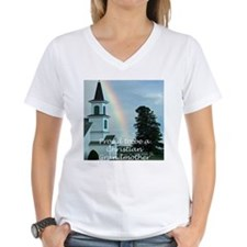 Proud to be a Christian Grandmother V-Neck