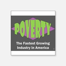 Poverty Sticker