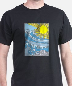 sun and waves T-Shirt