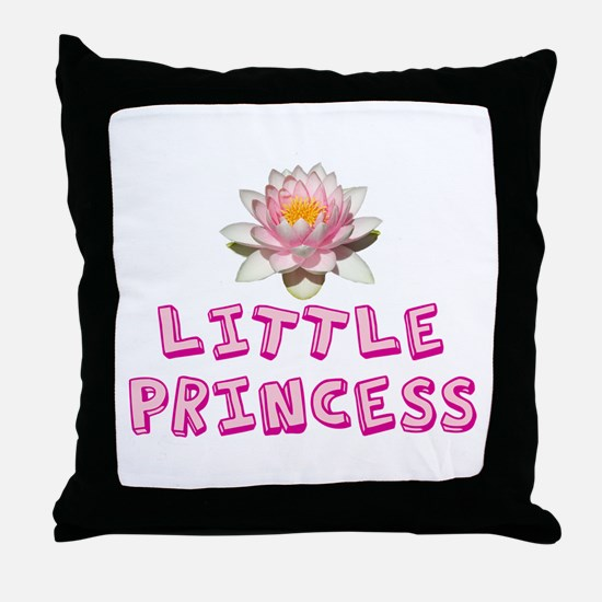 Little Princess Throw Pillow