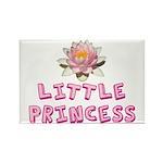 Little Princess Rectangle Magnet