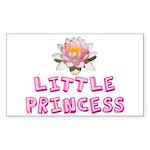 Little Princess Sticker (Rectangle)