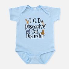 Obsessive Cat Disorder Infant Bodysuit