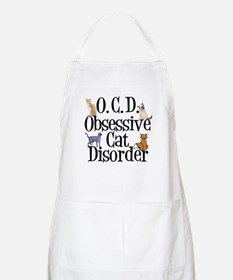 Obsessive Cat Disorder Apron