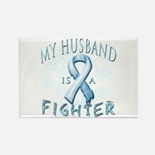 My Husband Is A Fighter Rectangle Magnet