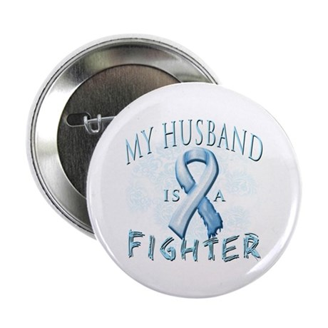 """My Husband Is A Fighter 2.25"""" Button (10 pack)"""