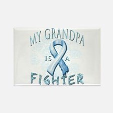 My Grandpa Is A Fighter Rectangle Magnet