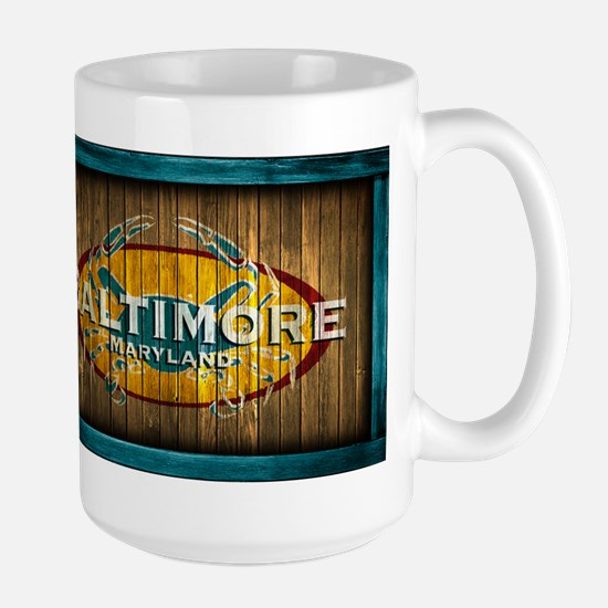 Baltimore Crab Large Mug
