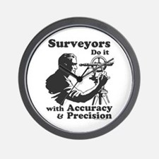 SurveyorsDoIt Wall Clock
