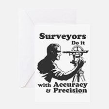 SurveyorsDoIt Greeting Card