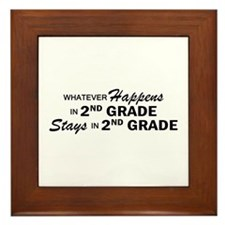 Whatever Happens - 2nd Grade Framed Tile