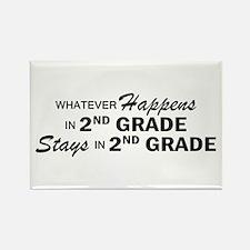 Whatever Happens - 2nd Grade Rectangle Magnet