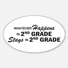 Whatever Happens - 2nd Grade Decal