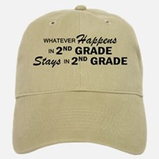 Whatever Happens - 2nd Grade Baseball Baseball Cap