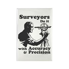 SurveyorsDoIt Rectangle Magnet