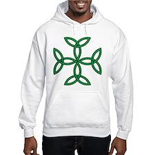 Celtic Triquetra Cross Hoodie