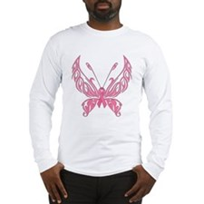 Fanciful Butterfly Long Sleeve T-Shirt