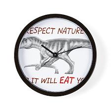 Cool Funny dinosaur Wall Clock