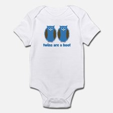 Boy Twin Owls Infant Bodysuit