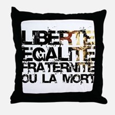 Do'in it the French Way Throw Pillow