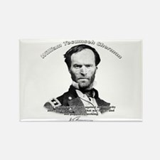 William Sherman 02 Rectangle Magnet