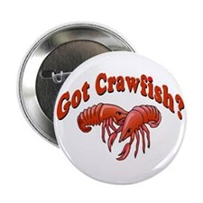 "Got Crawfish 2.25"" Button (10 pack)"