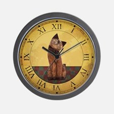 Country Cat Clock