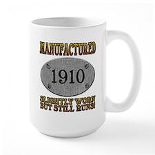 Manufactured 1910 Mug